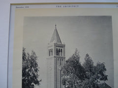 Hall of Philosophy University of Southern California, Los Angeles, CA, 1930, Ralph C. Flewelling