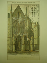 Lateral Porch of the Church of St. Urban , Troyes, France, EUR, 1879, Mr. P. Lorain