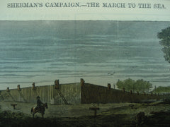 Sherman's Campaign - The March to the Sea , 1864, Unknown