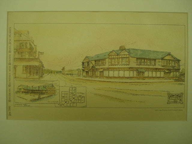 Seabright Stores , Seabright, NJ, 1883, H. Edwards Ficken