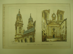 Church of St. Jacques , Luneville, Meurthe-et-Moselle, France, EUR, 1901, Unknown