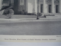 First Church of Christ Scientist, Glendale, CA, 1930, Meyer and Hullve