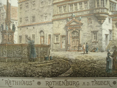 Rathaus, Rothenburg ob der Tauber, Germany, EUR, 1878, Unknown