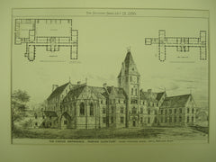 O'Brien Orphanage , Clontarf, Ireland, Europe, 1880, John L. Robinson