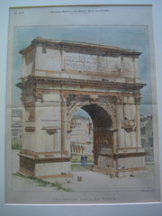 Triumphal Arch of Titus , Rome, Italy, EUR, 1895, Unknown