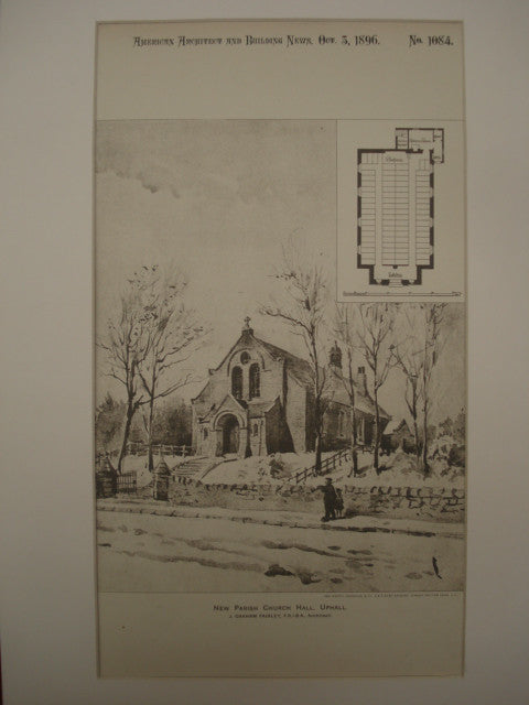 New Parish Church Hall , Uphall, Scotland, UK, 1896, J. Graham Fairley