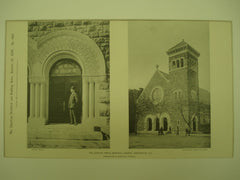 Gunton-Temple Memorial Church , Washington, DC, 1894, Hornblower & Marshall