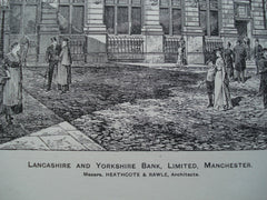 Lancashire and Yorkshire Bank, Limited , Manchester, England, UK, 1895, Messrs. Heathcote & Rawle
