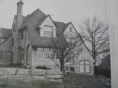 House of Dion W. Kennedy, Larchmont Gardens, NY, 1926, Clifford C. Wendehack
