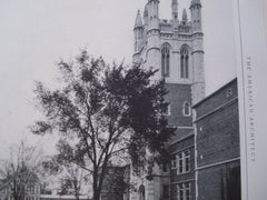 Eden Seminary Group, Webster Grove, MO, 1926, T.P. Barnett Co.