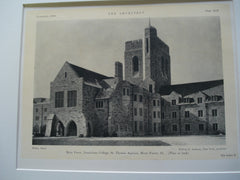 Dominican College, St. Thomas Aquinas, River Forest, IL, 1926, Wilfred E. Anthony