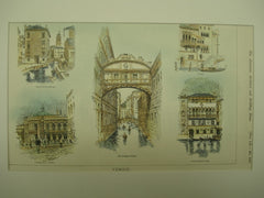 Sketches of Venice, Venice, Italy, EUR, 1900, Unknown