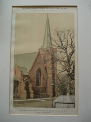 Park Congregational Church, Holly Avenue and Mackubin Street, St. Paul, MN, 1896, Clarence H. Johnston