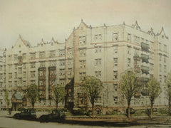 Halstead Apartments , White Plains, NY, 1926, Harry Creighton Ingalls
