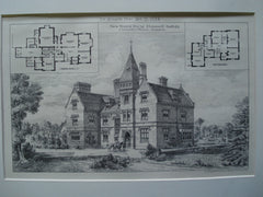 New Manor House, Elmswell, Suffolk, England, UK, 1884, J. Llewellyn Wilson