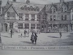 Liberal Club Premises , Great Grimsby, England, UK, 1884, Charles Bell