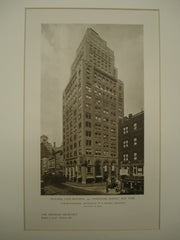 Building Loan Building at 441 Lexington Avenue , New York, NY, 1926, Ludlow & Peabody