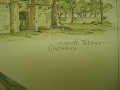 Abbot's Kitchen and Barn , Glastonbury, Somerset, England, UK, 1894, Burnky Bibb