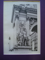 Northeast Pier of the Dewey Memorial Arch, New York, NY, 1900, To Arms!- Philip Martiny, Sculptor