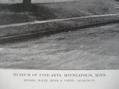 Museum of Fine-Arts , Minneapolis, MN, 1915, Messrs. McKim, Mead & White