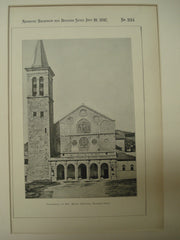 Cathedral of Sta. Maria Assunta, Spoleto, Italy, EUR, 1897, Unknown
