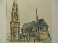 Church of St. Luke at Victoria Docks, London, UK, 1873, Giles and Gane