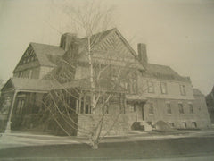Residence of J. W. Gillis, Rochester, NY, 1890
