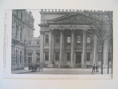 The Bank of Montreal, Montreal, Quebec, CAN, 1888, Unknown