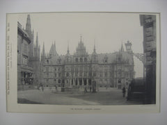 The Rathhaus, Wiesbaden, Germany, 1892, Unknown