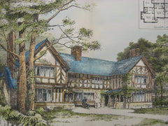 Cottages for Lever Brothers, Port Sunlight, England, UK, 1893, Huon A. Matear