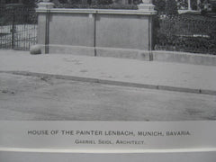 Painter Lenbach House, Munich, Germany, EUR, 1900, Gabriel Seidl