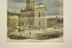 The Belfry of Valenciennes, Valenciennes, France, EUR, 1862, Unknown