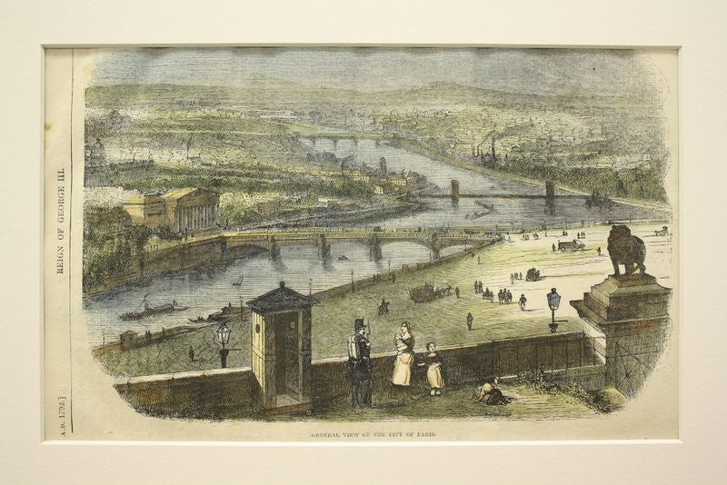 General View of Paris, Paris, France, EUR, 1862, Unknown