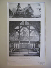 Chapel, Islesborough, ME, 1904, Francis R. Allen and Charles Collins