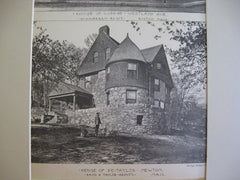 Page/Taylor Houses, Boston/Newton, MA, 1889, H. S. Warren and Rand & Taylor