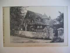 Nickerson Gate Lodge, Dedham, MA, 1889, Longfellow, Alden and Harlow