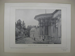 Fountain and Tombs of the Sultans, Eyub, Turkey, EUR, 1901, Unknown
