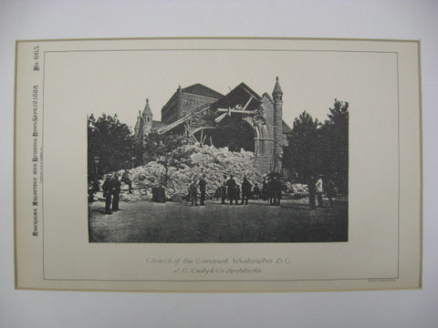 Church of the Covenant, Washington, DC, 1888, J. C. Cady and Company