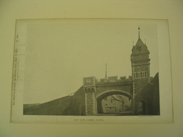 Kent Gate, Quebec, CAN, 1888