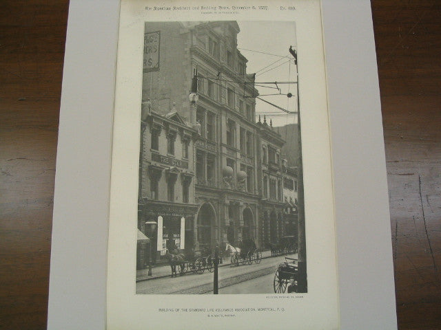 Lincoln Building, Lincoln Street, Boston, MA, 1887, Cummings & Sears