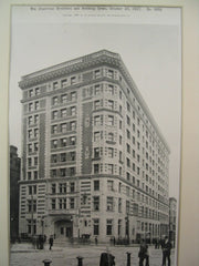 The Hotel Touraine, Boston, MA, 1897, Winslow and Wetherell