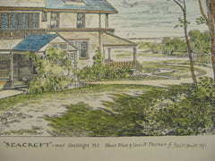 Seacroft House, Seabright, NJ, 1883, Bruce Price and George A. Freeman