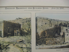 Pueblo Architecture in New Mexico, Arizona, and Mexico, 1897