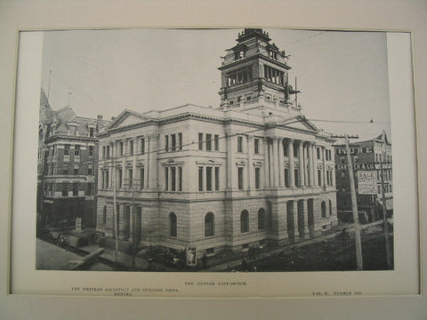 Denver Post-Office, Denver, CO, 1891