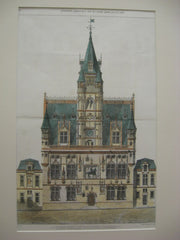 Town Hall, Compiegne, France, EUR, 1877, Unknown