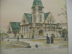 Lutheran Church, Los Angeles, CA, 1888, Willis Polk