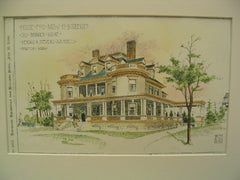 House for J. H. Burleigh, South Berwick, ME, 1896, Kendall and Stevens