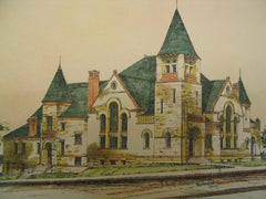 First Congregational Church, Appleton, WI, 1888, Warren H. Hayes