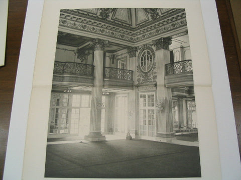 A corner of the Ball Room: Sherry's, New York, NY, 1898, McKim, Mead and White