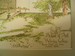 J. D. Farnsworth School of Art at Wellesley College, Wellesley, MA, 1888, Rotch and Tilden